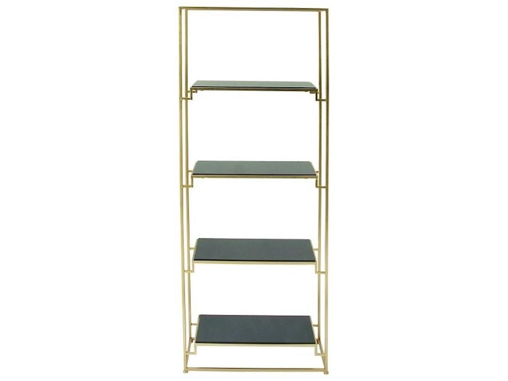 UMA Enterprises, Inc. Accent FurnitureMetal/Glass Shelf