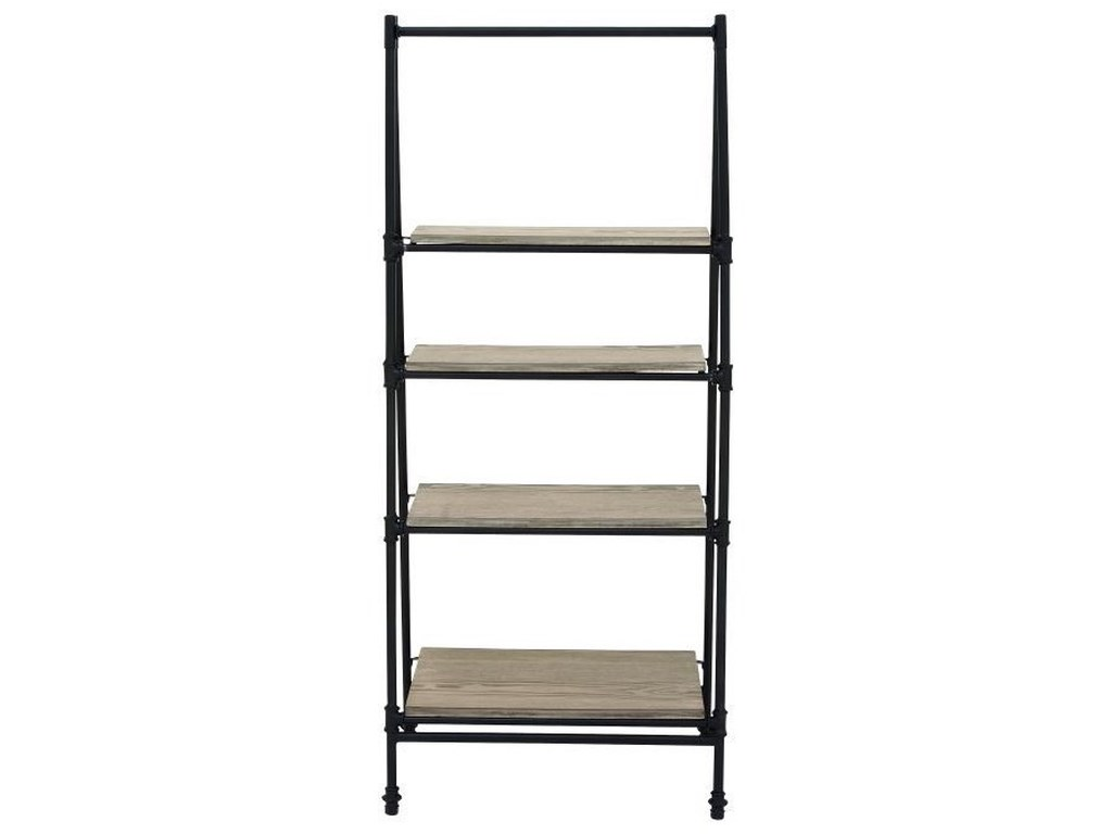 UMA Enterprises, Inc. Accent FurnitureMetal/Wood Shelf Stand