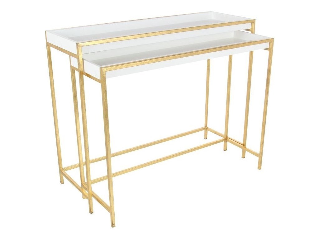UMA Enterprises, Inc. Accent FurnitureMetal/Console Tables, Set of 2
