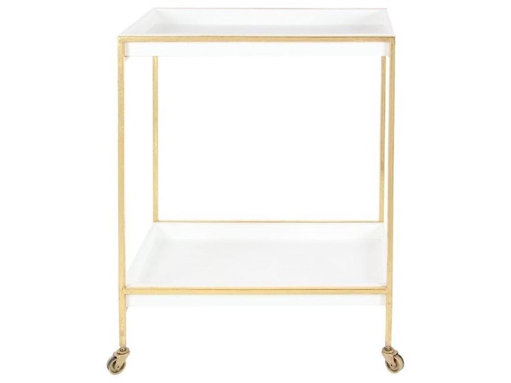 UMA Enterprises, Inc. Accent FurnitureMetal/Wood Tea Cart