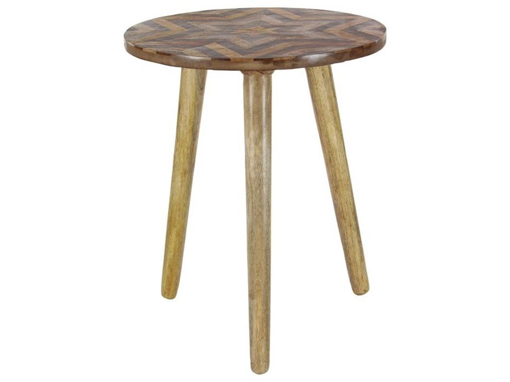 UMA Enterprises, Inc. Accent FurnitureWood Round Accent Table