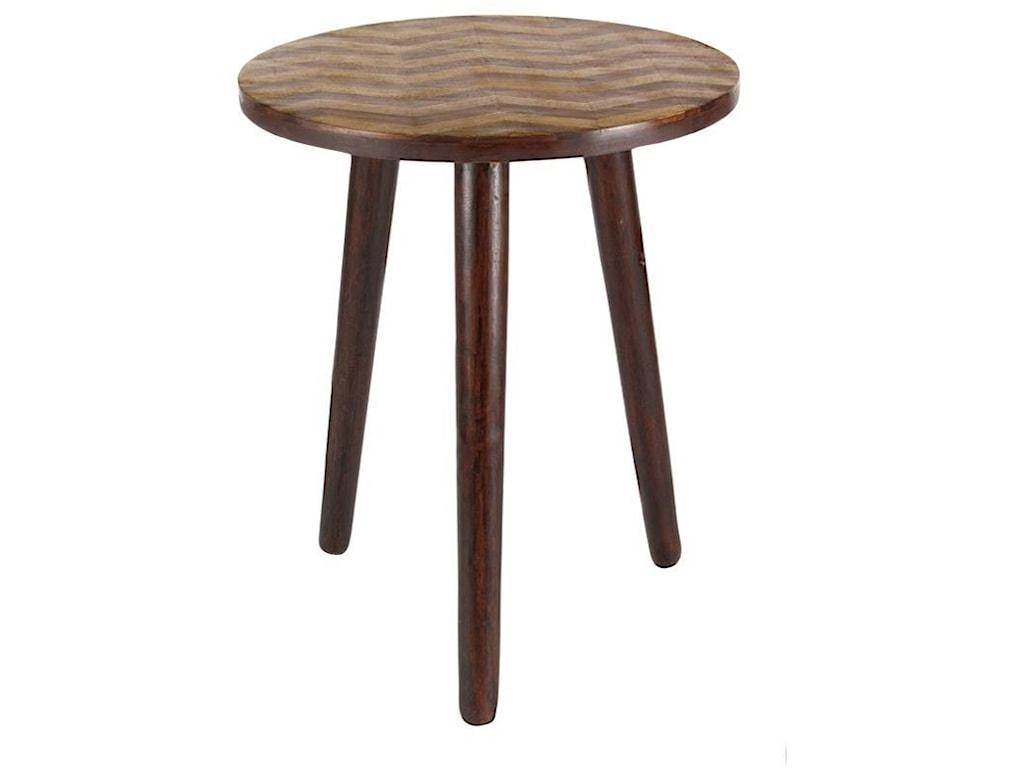 UMA Enterprises, Inc. Accent FurnitureWood Round Accent Table