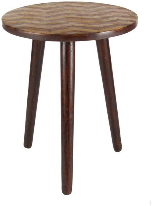 Uma Enterprises Inc Accent Furniture Wood Round Table
