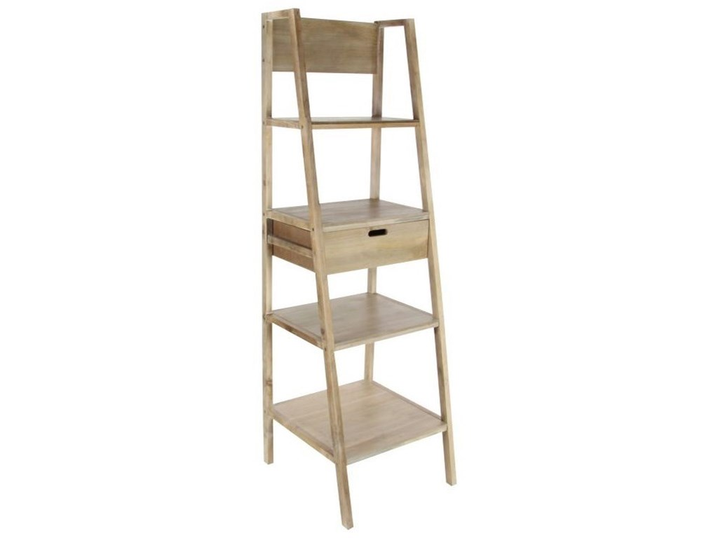 UMA Enterprises, Inc. Accent FurnitureWood Brown Storage Shelf