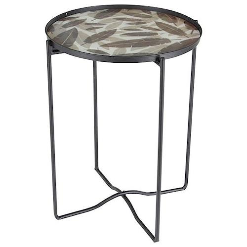 Uma Enterprises Inc Accent Furniture Metal Gl Table