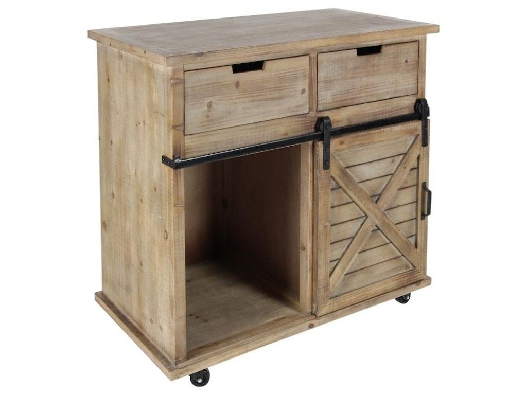 UMA Enterprises, Inc. Accent FurnitureWood/Metal Storage Cabinet