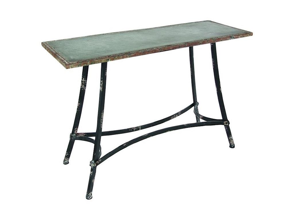 UMA Enterprises, Inc. Accent FurnitureMetal Console Table