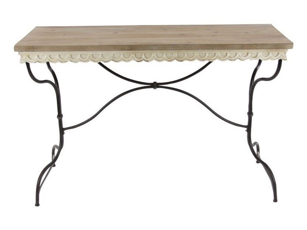 UMA Enterprises, Inc. Accent FurnitureMetal/Wood Consol Table