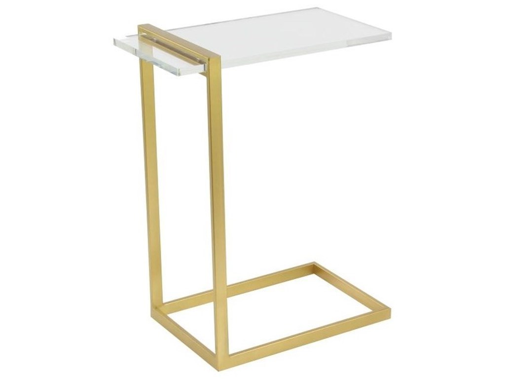 UMA Enterprises, Inc. Accent FurnitureMetal/Acrylic Accent Table