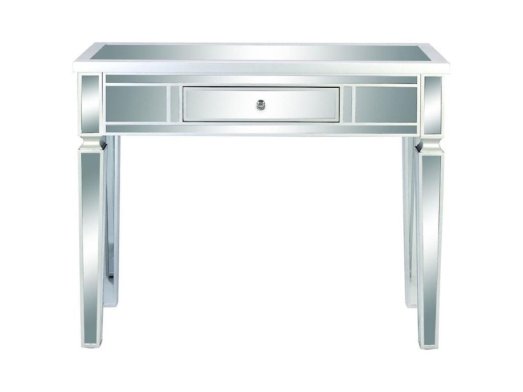 UMA Enterprises, Inc. Accent FurnitureWood/Mirror Console Table