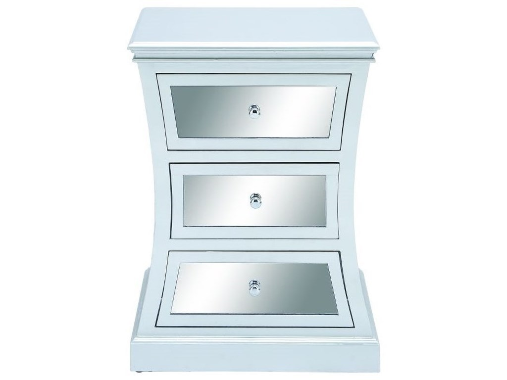 UMA Enterprises, Inc. Accent FurnitureWood Mirror Side Cabinet