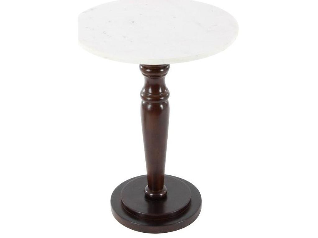 UMA Enterprises, Inc. Accent FurnitureWood/Marble Accent Table