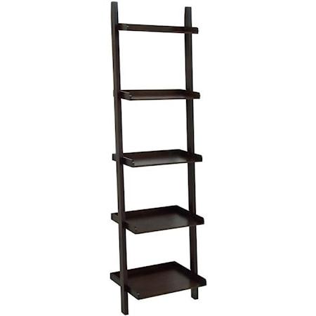 Wood Leaning Shelf
