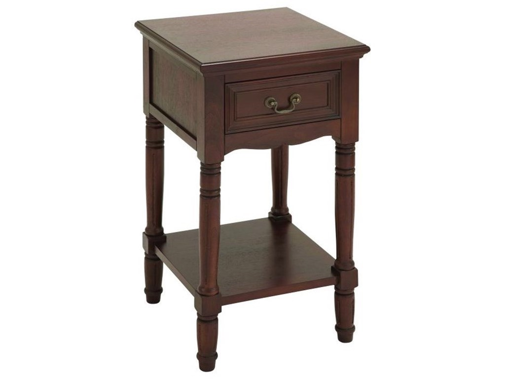 UMA Enterprises, Inc. Accent FurnitureWood Side Table