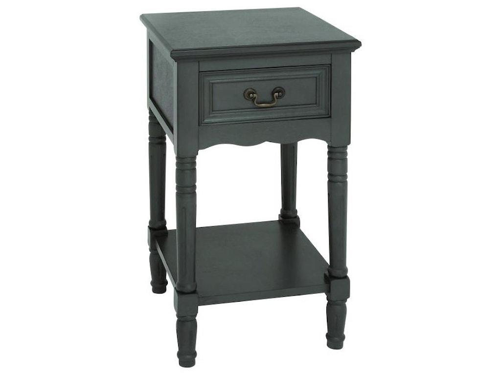 UMA Enterprises, Inc. Accent FurnitureWood Side Table