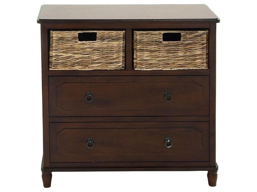 UMA Enterprises, Inc. Accent FurnitureWood Basket Chest