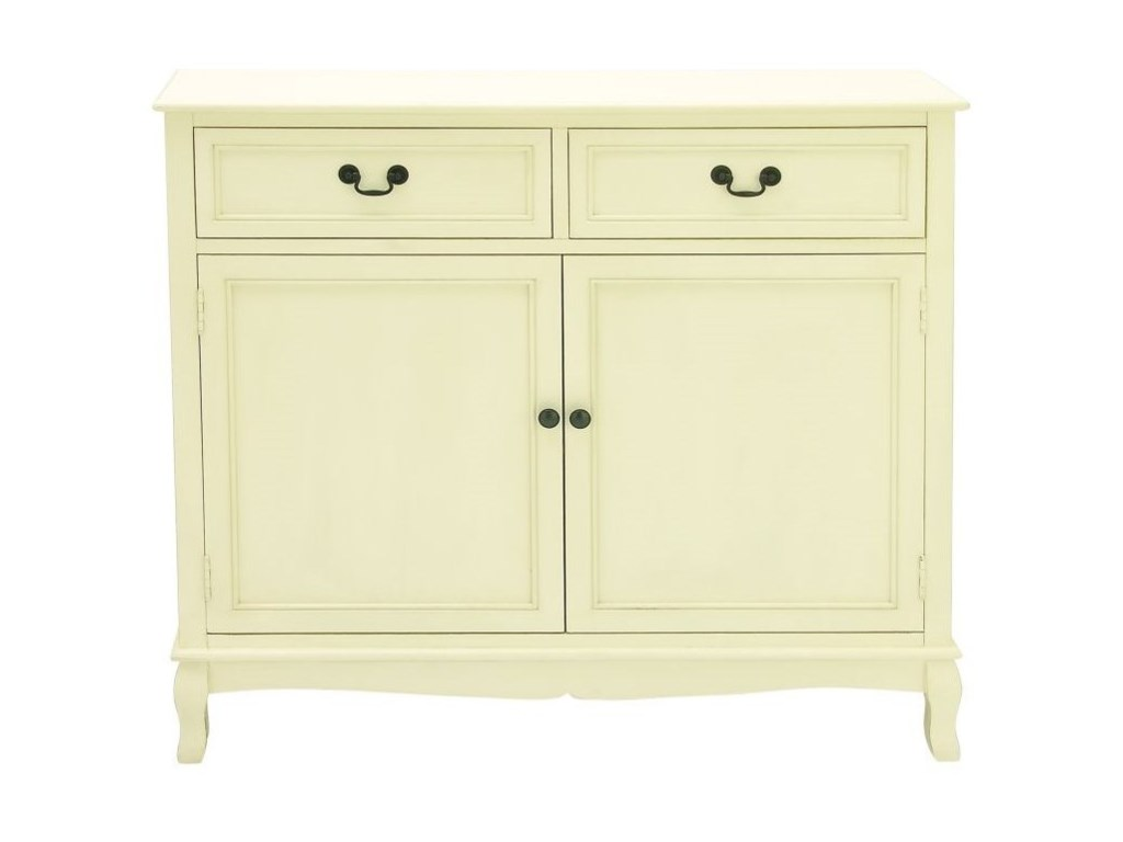 UMA Enterprises, Inc. Accent FurnitureWood White Cabinet