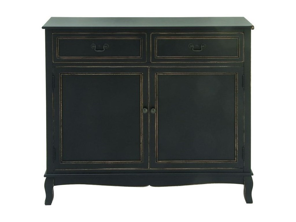 UMA Enterprises, Inc. Accent FurnitureWood Black Cabinet