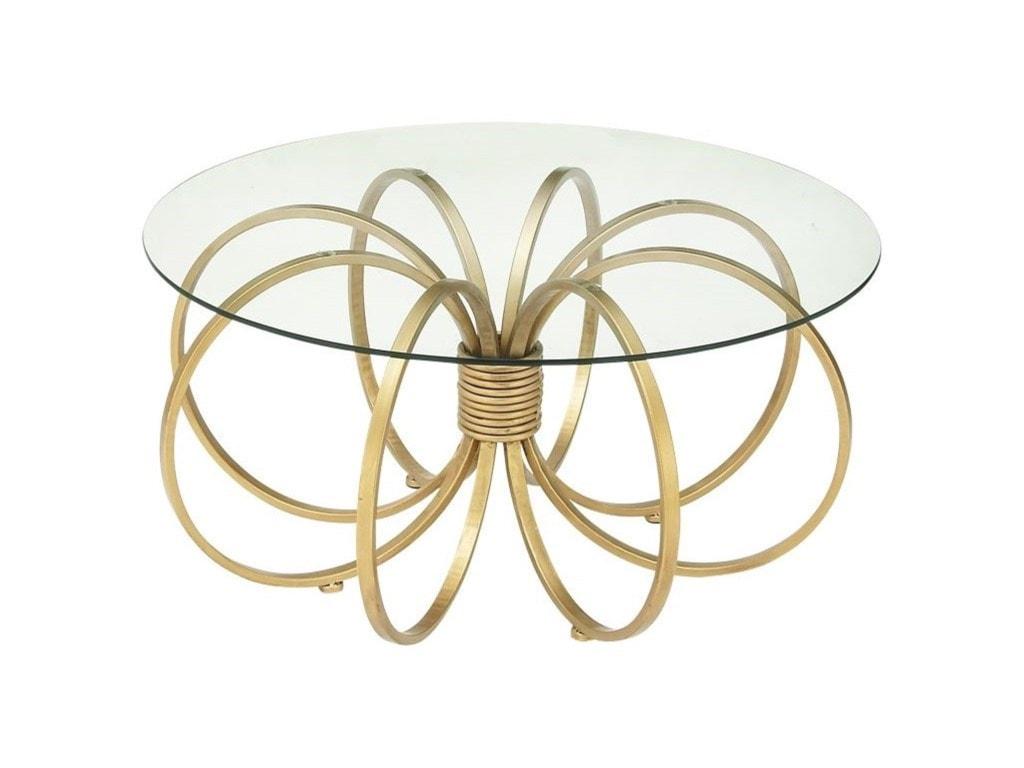 UMA Enterprises, Inc. Accent FurnitureMetal/Glass Coffee Table