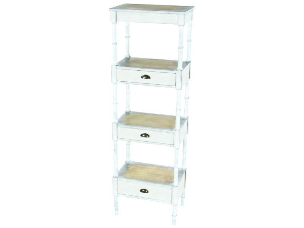 UMA Enterprises, Inc. Accent FurnitureMetal/Wood Storage Shelf