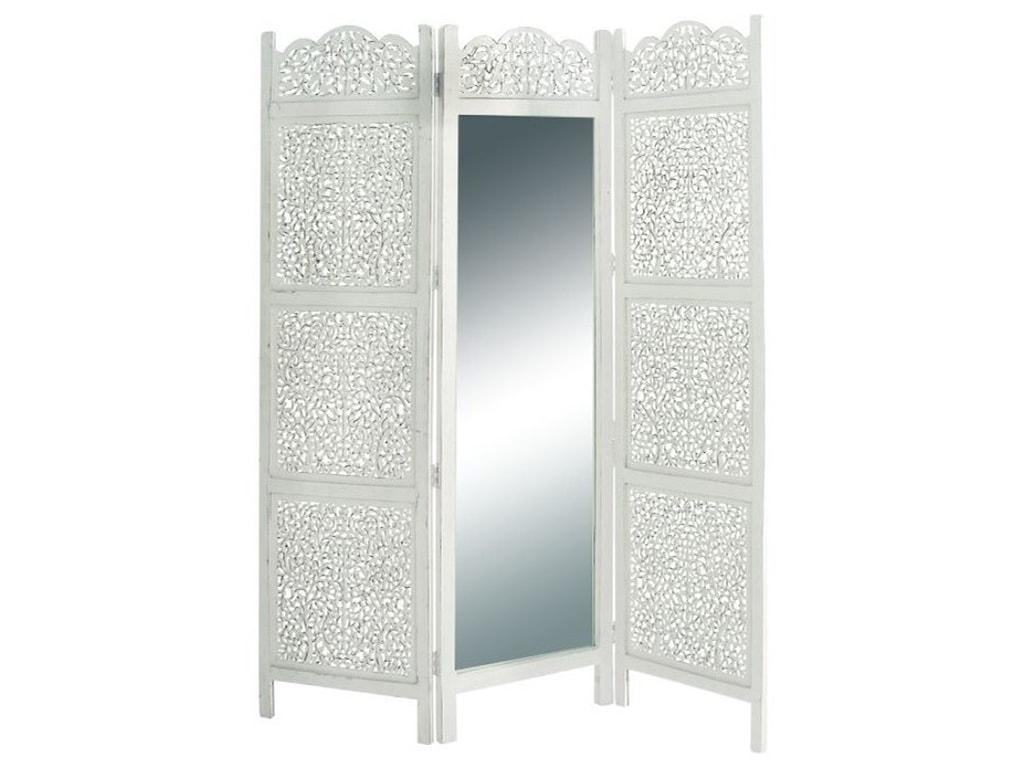 UMA Enterprises, Inc. AccessoriesWood Mirror 3 Panel Screen