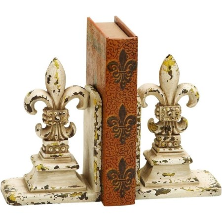 Polystone Bookend Pair