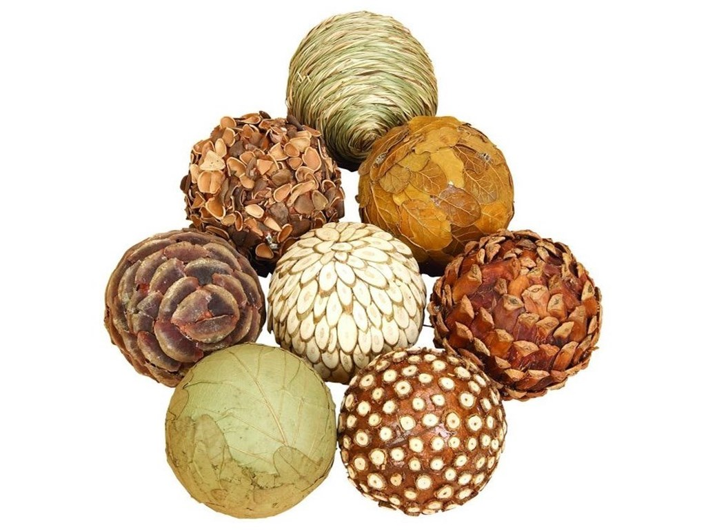 UMA Enterprises, Inc. AccessoriesNatural Ball, Set of 8