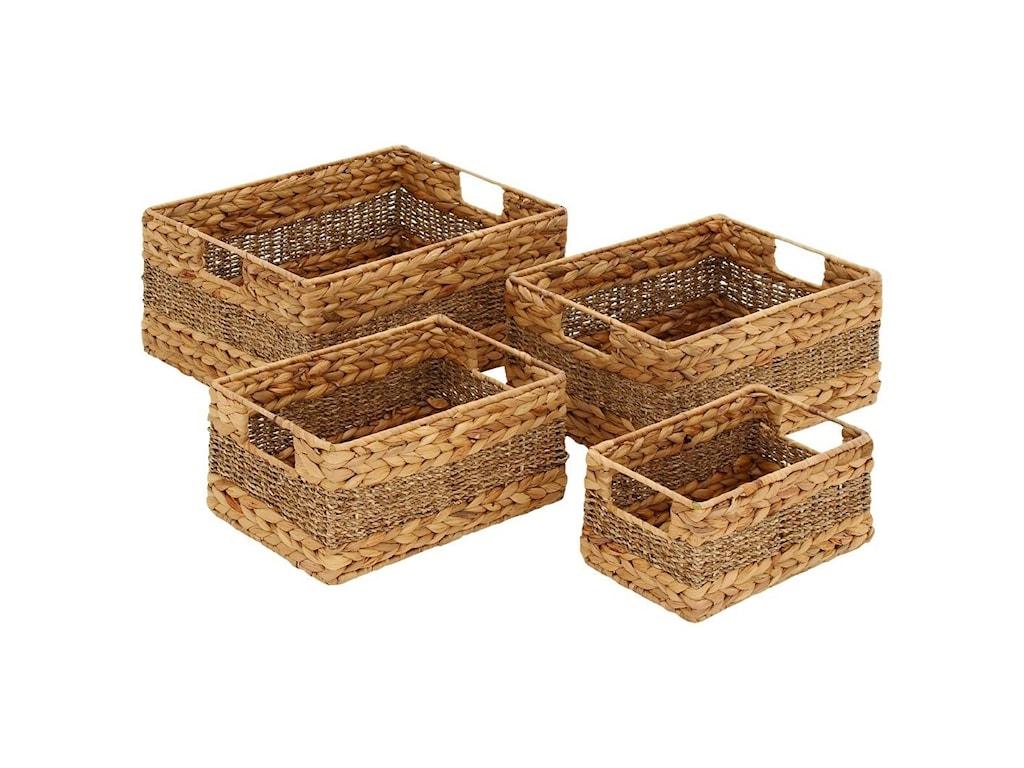 UMA Enterprises, Inc. AccessoriesSeagrass Baskets, Set of 4