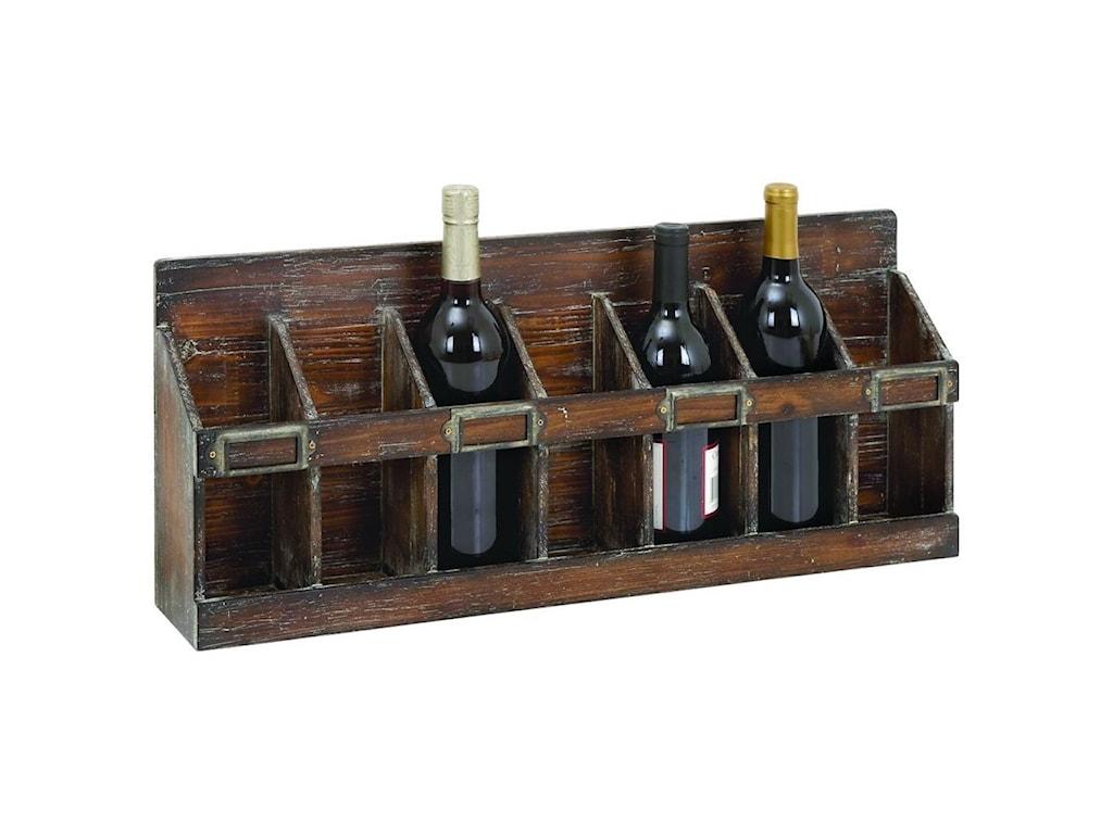 UMA Enterprises, Inc. AccessoriesWood Wine Rack