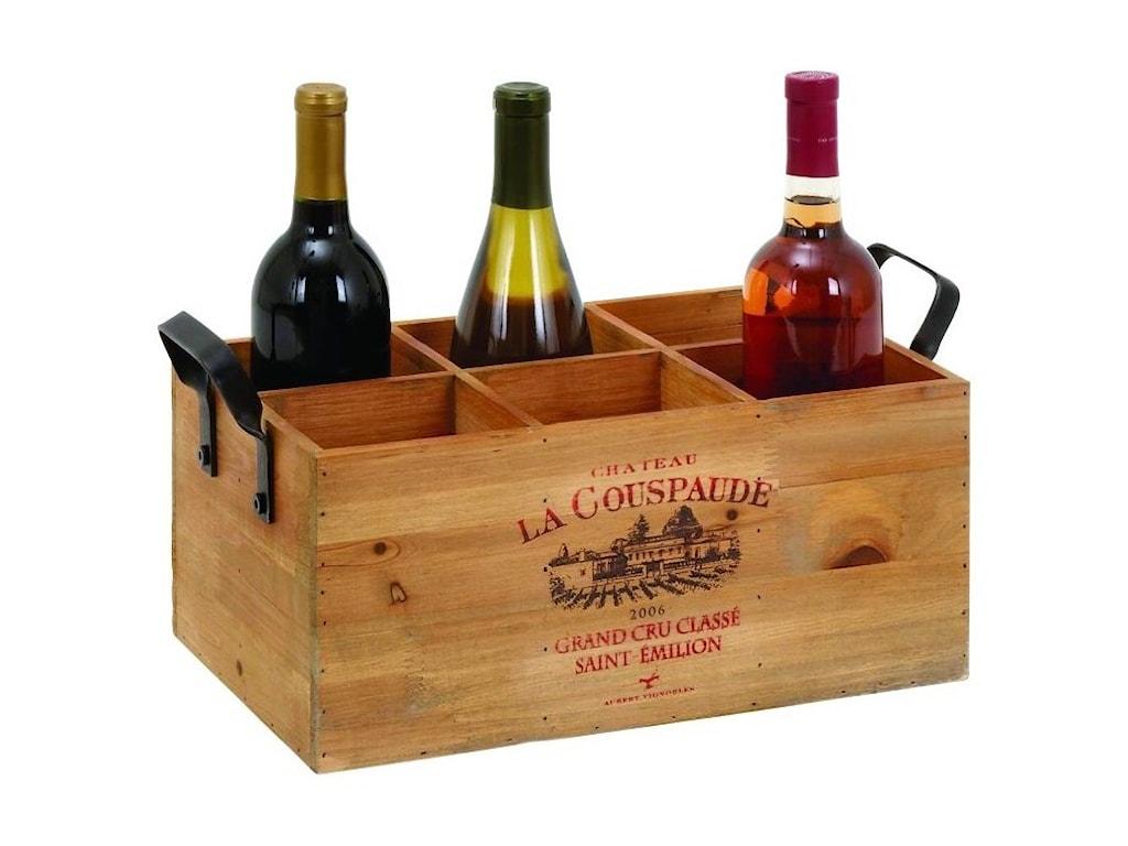 UMA Enterprises, Inc. AccessoriesWood Wine Holder