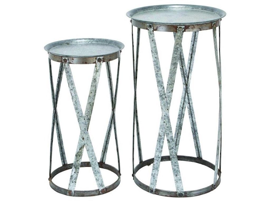 UMA Enterprises, Inc. AccessoriesMetal Pedestals, Set of 2