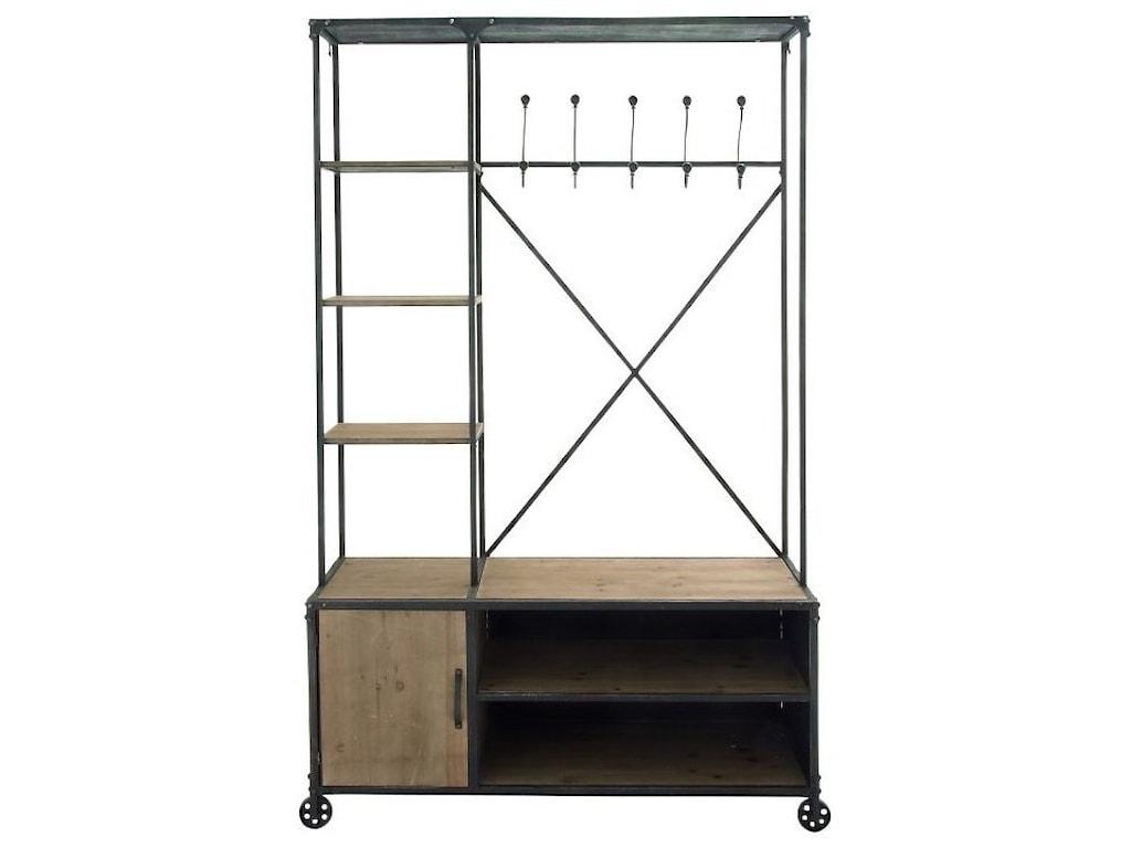UMA Enterprises, Inc. AccessoriesMetal/Wood Clothes Rack