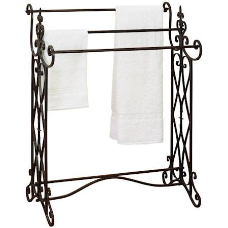 Metal Towel Rack