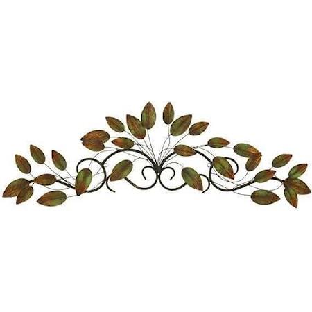 Metal Leaf Decor
