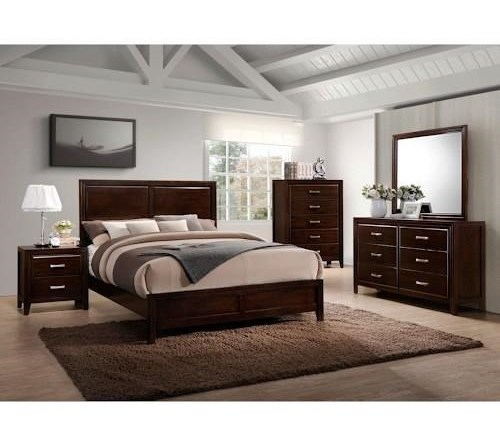 Simmons Upholstery 1006 Agathis5 Piece Bedroom Group