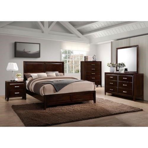 Simmons Upholstery 1006 AgathisQueen 6-Piece Bedroom Group