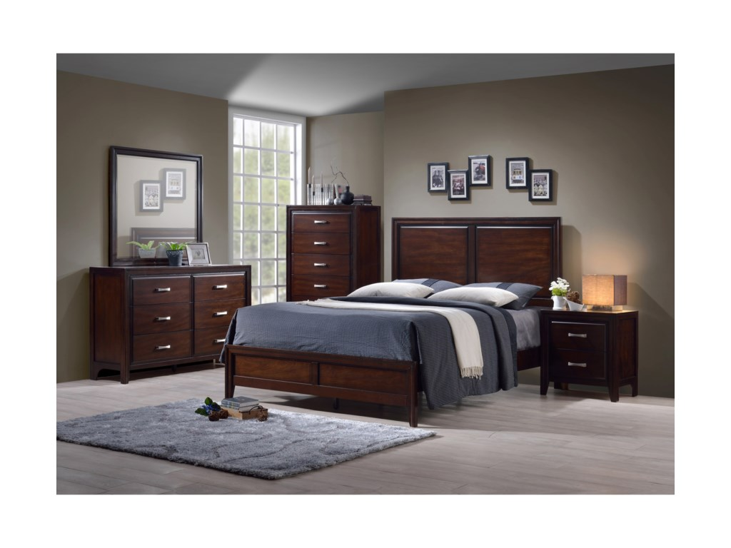 Simmons Upholstery 1006 AgathisKing Bedroom Group