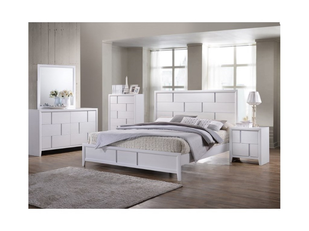 United Furniture Industries 1011Queen Bedroom Group