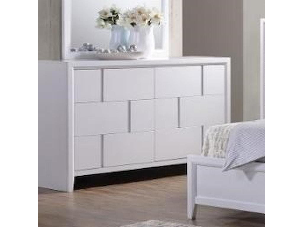 United Furniture Industries 10116 Drawer Dresser