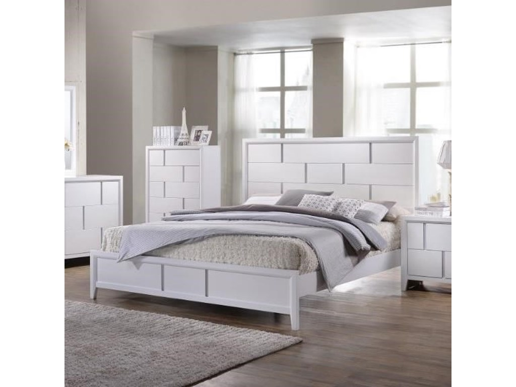 United Furniture Industries 1011King Panel Bed