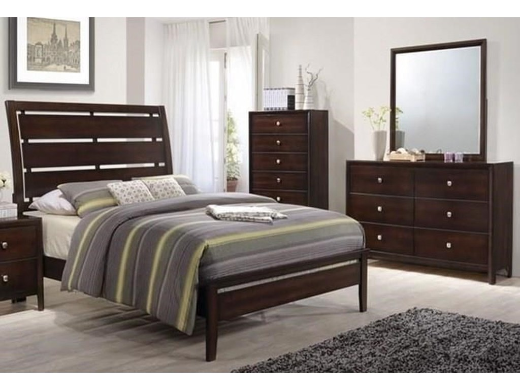 Lane Home Furnishings JacksonTwin 5 Piece Bedroom Group