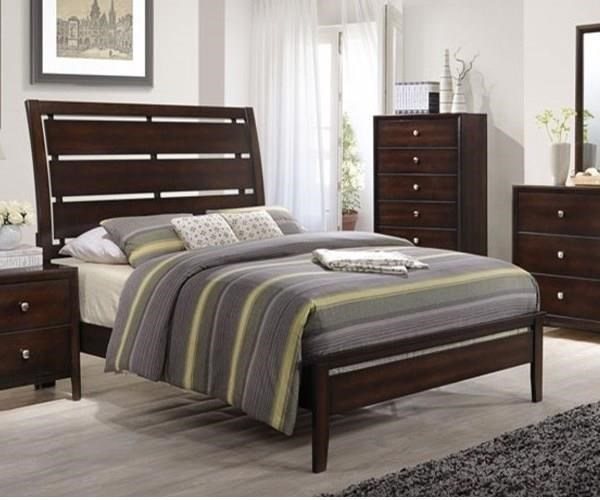 Simmons Upholstery JacksonFull Panel Bed