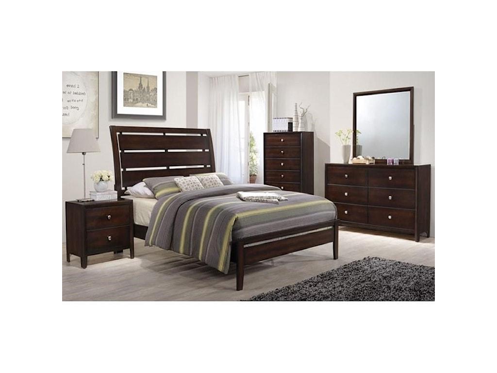 Lane Home Furnishings JacksonQueen Panel Bed