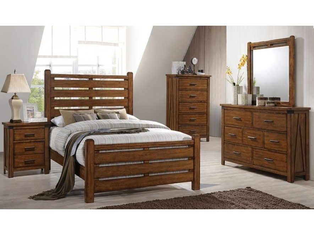 Simmons Upholstery 1022 Logan7 Drawer Dresser