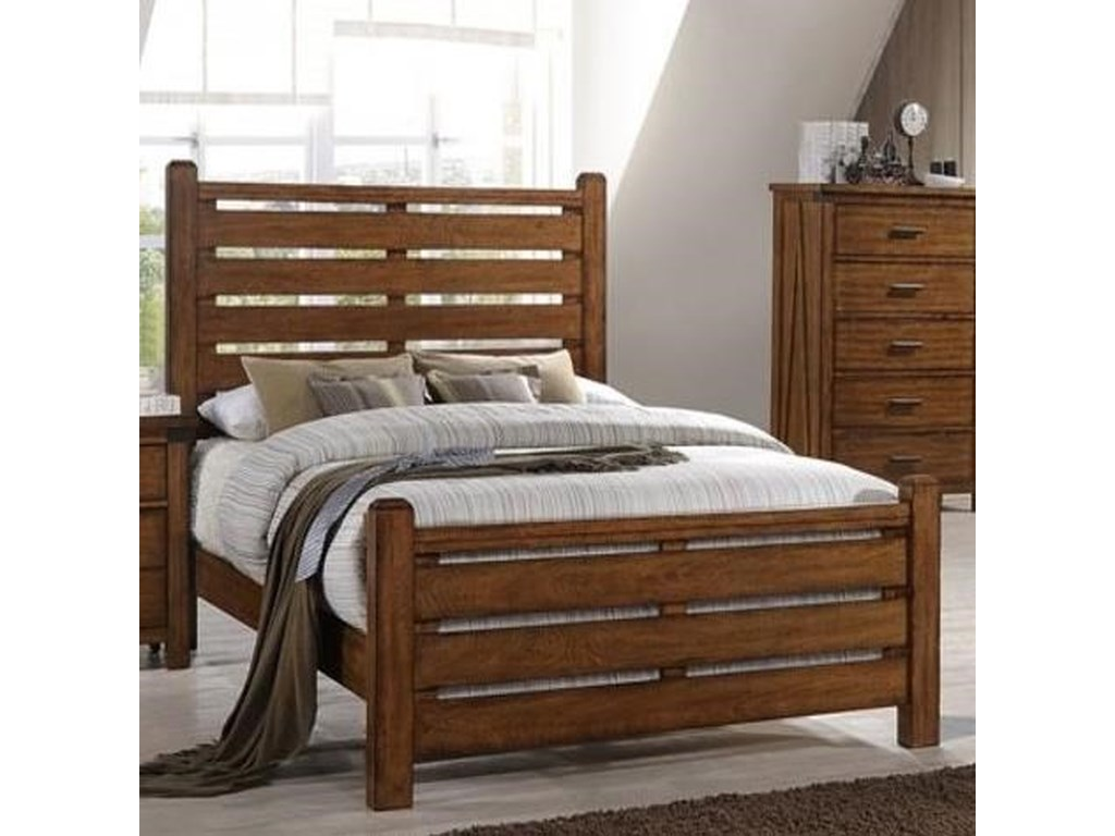 United Furniture Industries 1022 LoganKing Bed