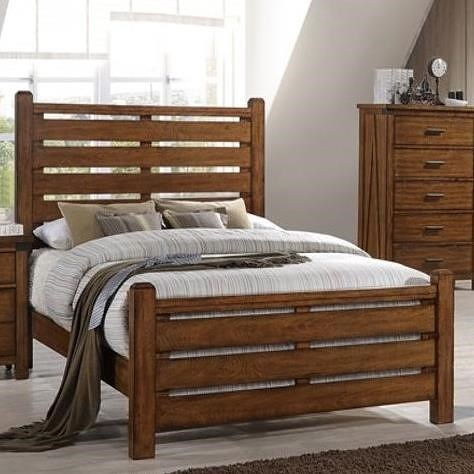 Umber Archer Queen Bed