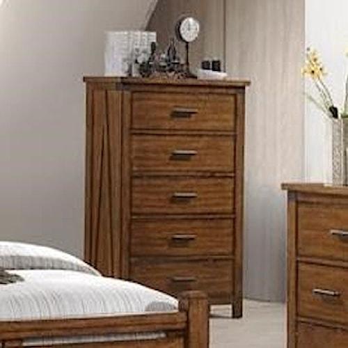 United Furniture Industries 1022 Logan 5 Drawer Chest