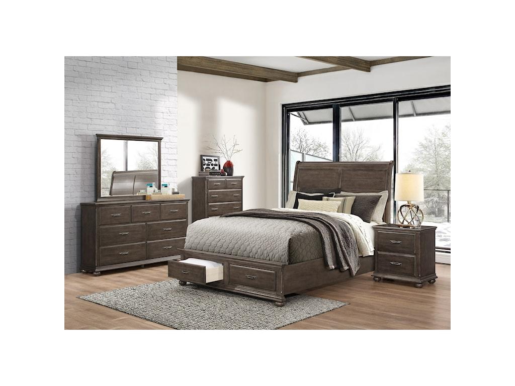 United Furniture Industries 1026Mirror