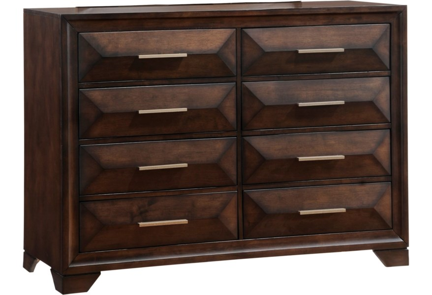Lane Anthem Unit 1035 10 Mid Century Modern Dresser With 8 Drawers Household Furniture Dressers