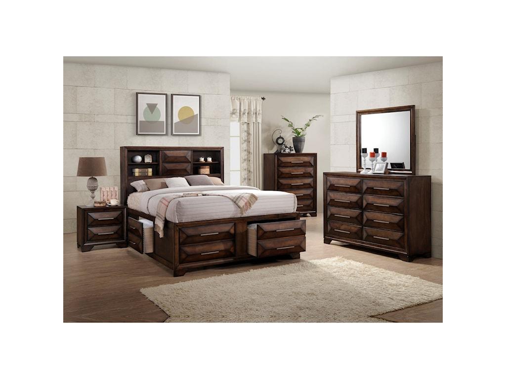 United Furniture Industries AnthemDresser Mirror